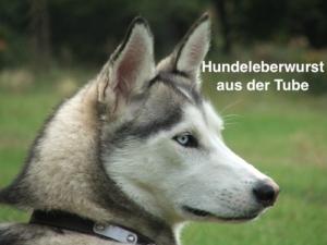 Hundeleberwurst aus der Tube
